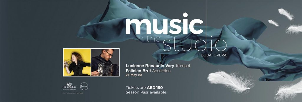 Music in the Studio: Lucienne Renaudin Vary