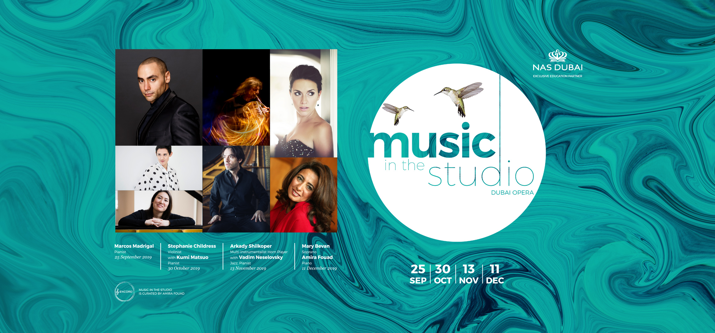 Music in the Studio: Mary Bevan and Amira Fouad Dubai 2019