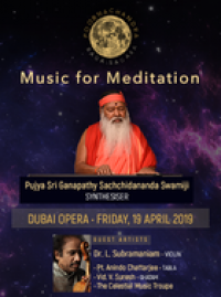 ​Music for Meditation at Dubai Opera Apr 19th