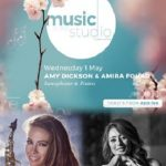 Music in the Studio with Amy Dickson & Amira Fouad Dubai