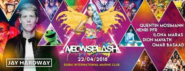 Neon Splash Party - Events in Dubai, UAE.