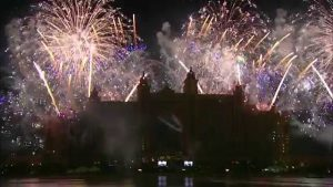New Year Eve 2018 Fireworks - Atlantis, the Palm