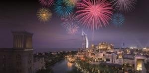 New Year Fireworks 2015 - Burj Al Arab