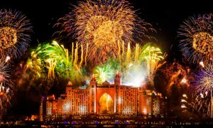 New Year Fireworks 2019 – Atlantis, Palm Jumeirah, Dubai,