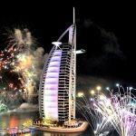 New Year Fireworks 2019 - Burj Al Arab Fireworks