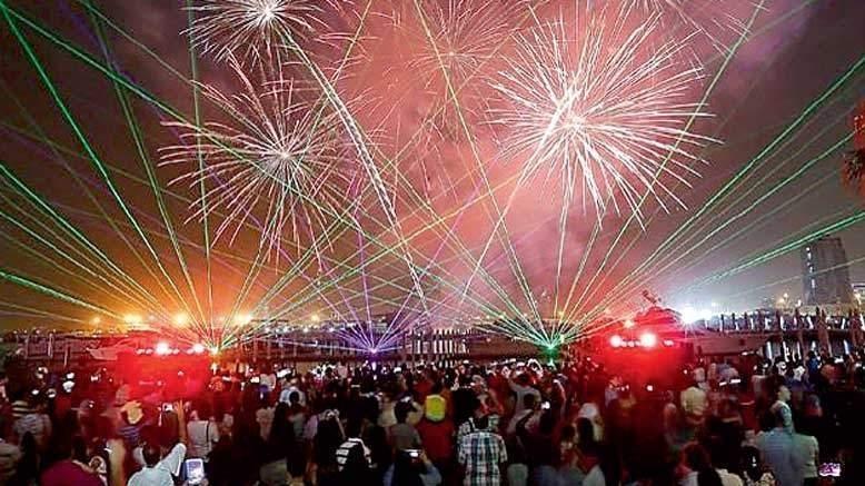 New Year Fireworks 2020 Ras Al Khaimah