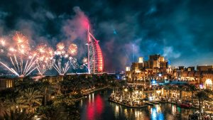 New Year Fireworks Madinat Jumeirah