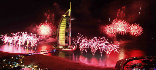 New Year Gala Dinner Burj Al Arab