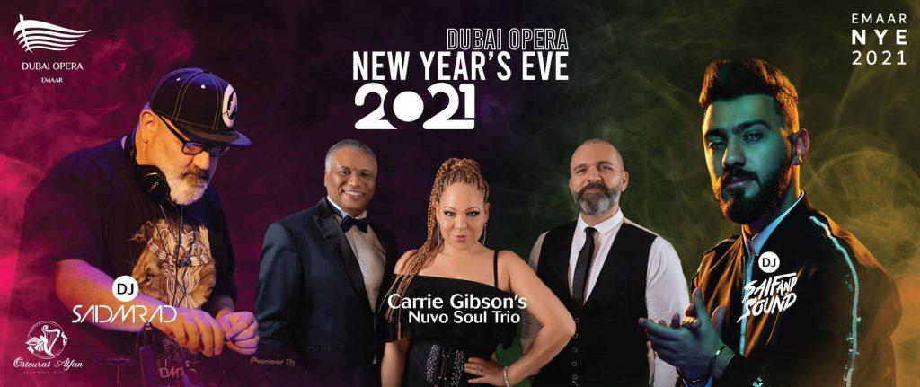 New Year's Eve 2021 at Dubai Opera