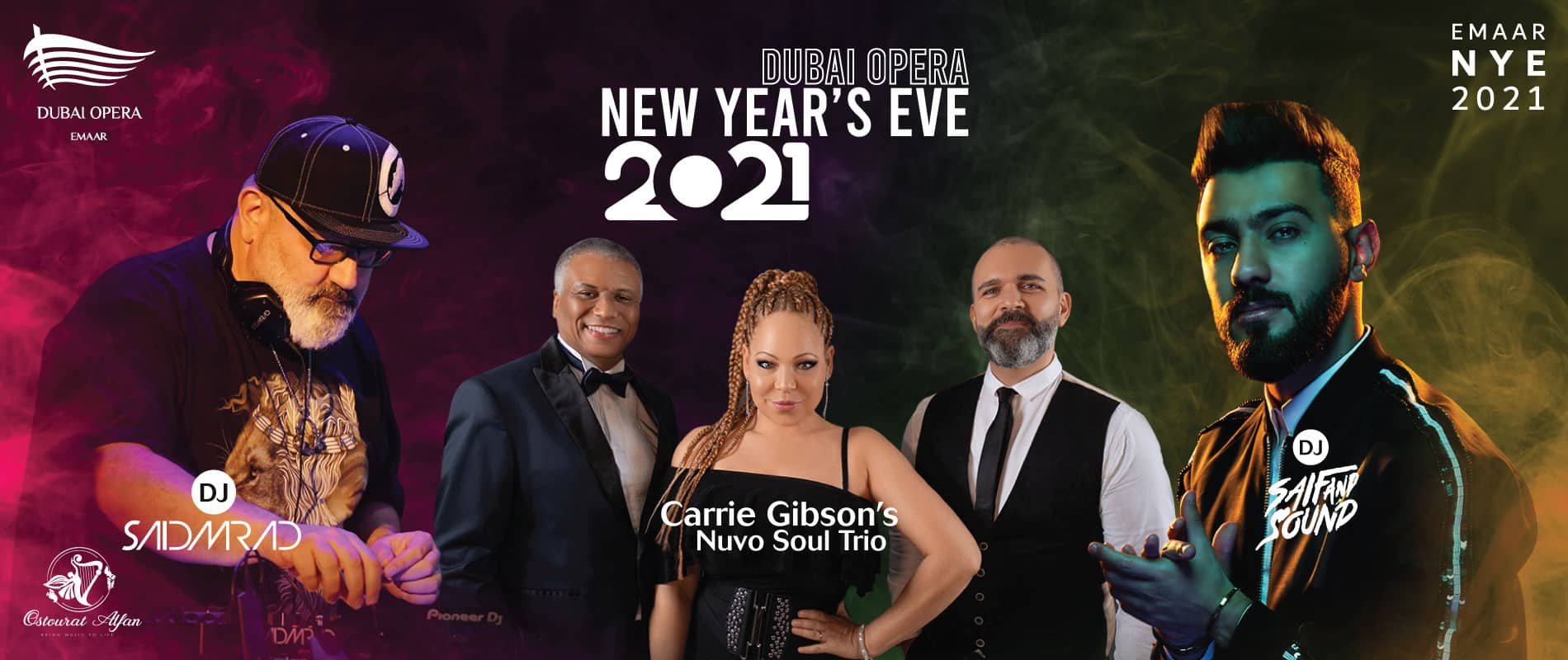 New Year's Eve 2021 at Dubai Opera