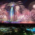 New Year's Eve at Burj Al Arab
