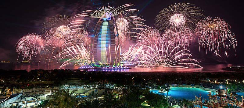 New Year's Eve at Burj Al Arab Dubai