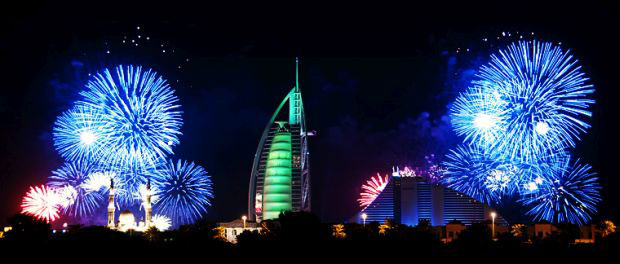 New Years Eve Fireworks in Dubai – Events in Dubai, UAE.