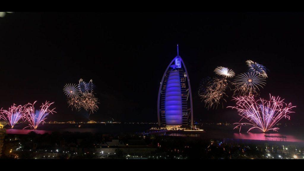 New Year's Eve Gala Dinner Burj-Al-Arab