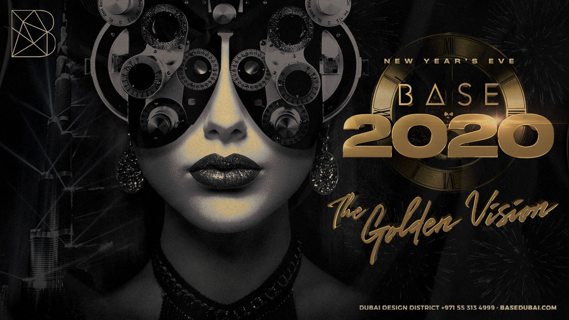 New Year's Eve: The Golden Vision Dubai