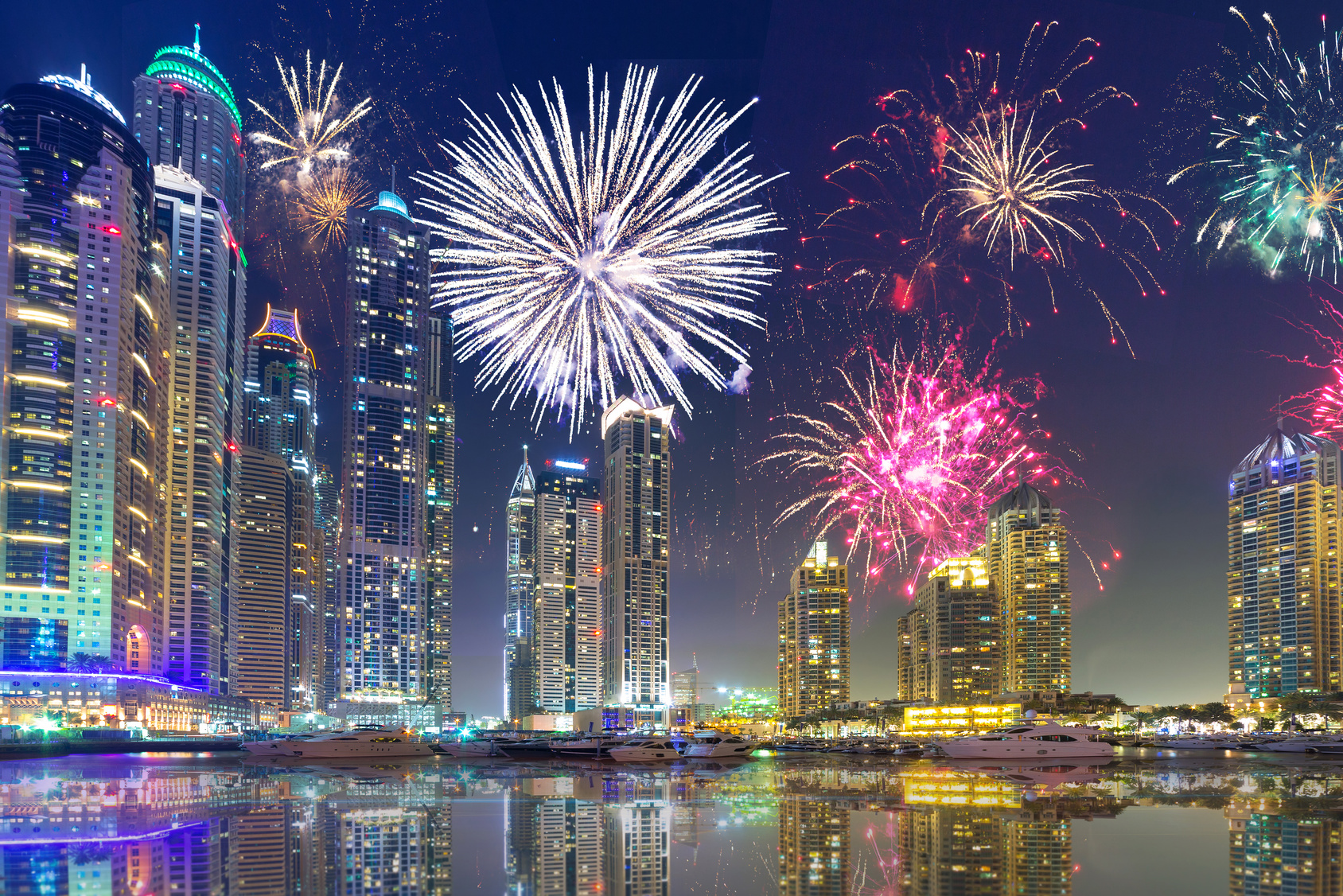 New Year 2018 Fireworks in DUBAI UAE – Latest Events in UAE