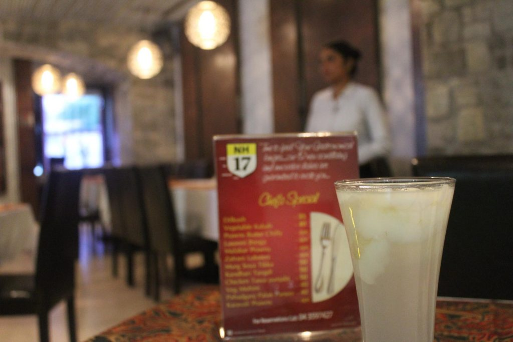 Nimbu Nariyal Paani - NH17 Restaurant Review - Dubai UAE