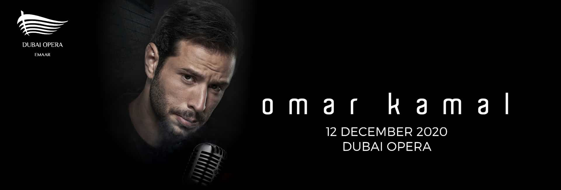 Omar Kamal at Dubai Opera 2020