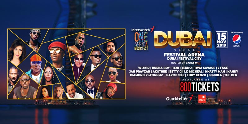 One Africa Music Fest Dubai 2019