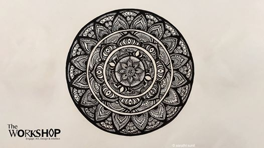 Online Workshop: Mandala Drawing Dubai 2020