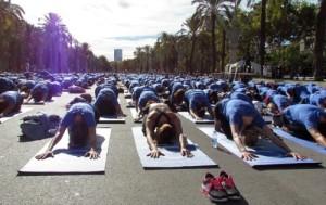 Oysho-Yoga-day-in-Dubai-2014
