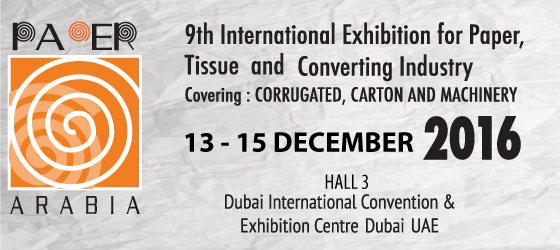 Paper Arabia 2016 - Dubai, UAE.