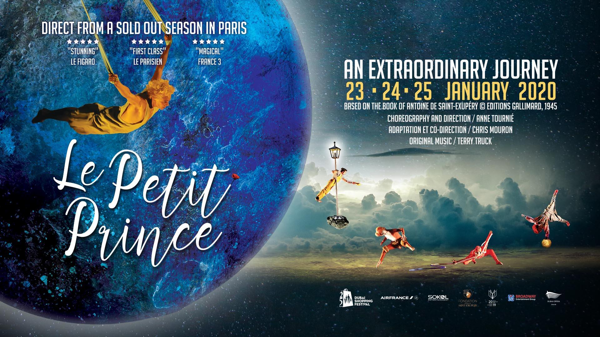 Play: Le Petit Prince on Jan 23rd – 25th at Dubai Opera