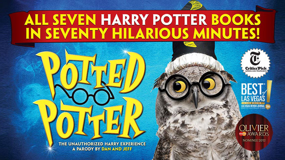 Play: Potted Potter on Jun 11th – 13th at QE2 Dubai
