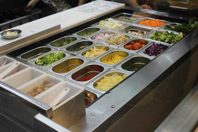 Praxs Restaurant Dubai, UAE - Review - Yummy Salads