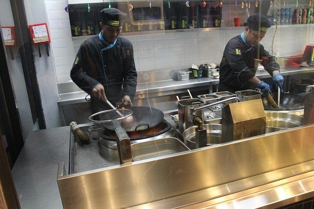 Prax's Chinese Restaurant - Cooking Area