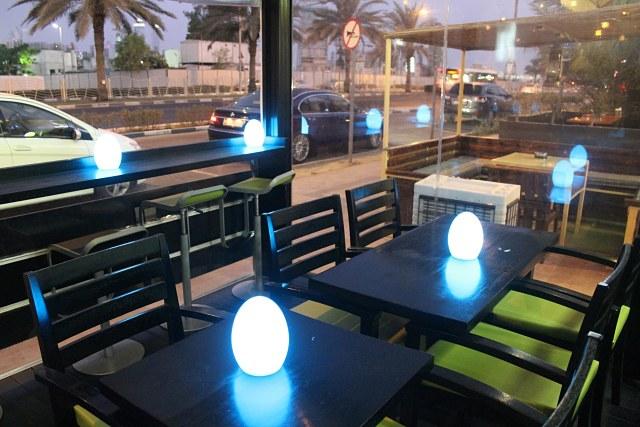 Praxs Restaurant Dubai - Seating area outside the restaurant