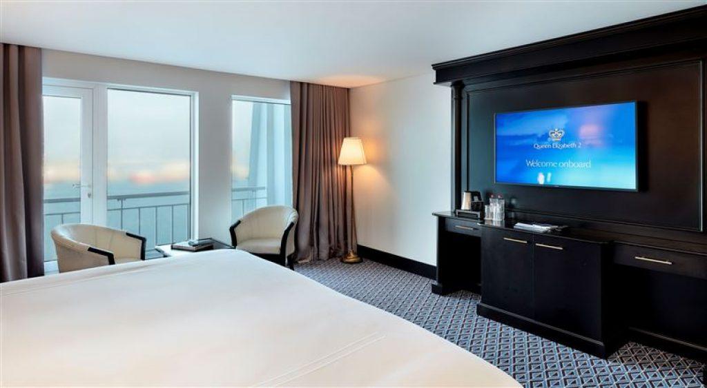 Queen Elizabeth 2 Floating Hotel Dubai