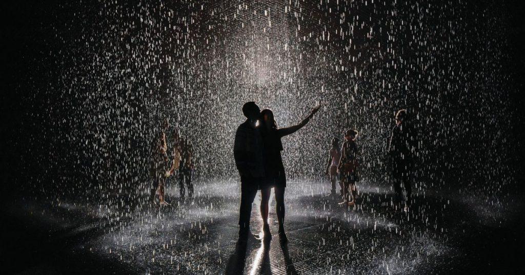 Rain Room in Sharjah, United Arab Emirates