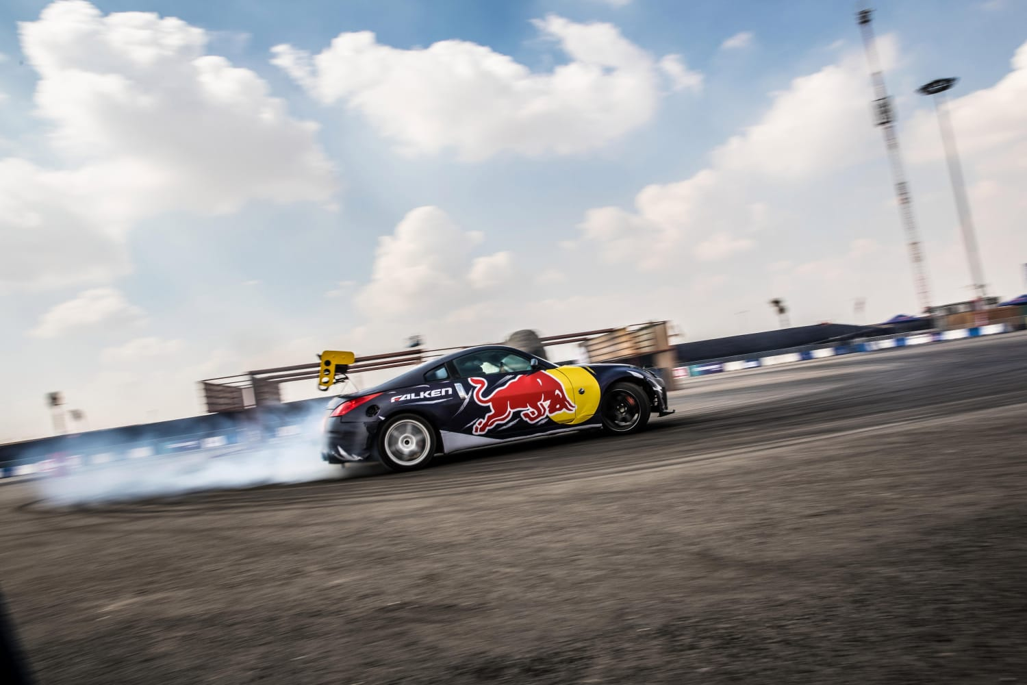 Red Bull Car Park Drift Dubai 2020