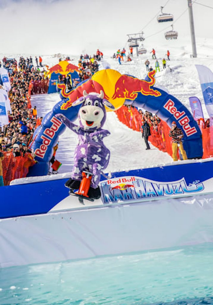Red Bull Jump & Freeze - 2021 Event in Dubai, UAE