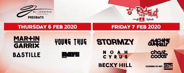 RedFest DXB 2020 on Feb 6th – 7th at Dubai Media City Amphitheatre