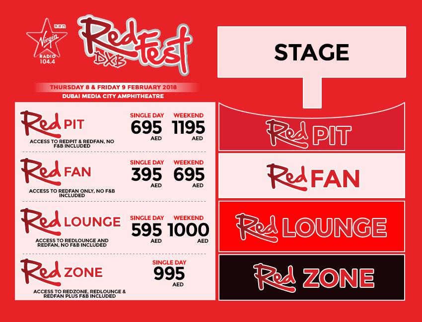 RedFest DXB 2018 Dubai