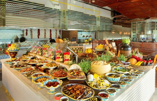 Restaurants Serving Buffet In Dubai, United Arab Emirates