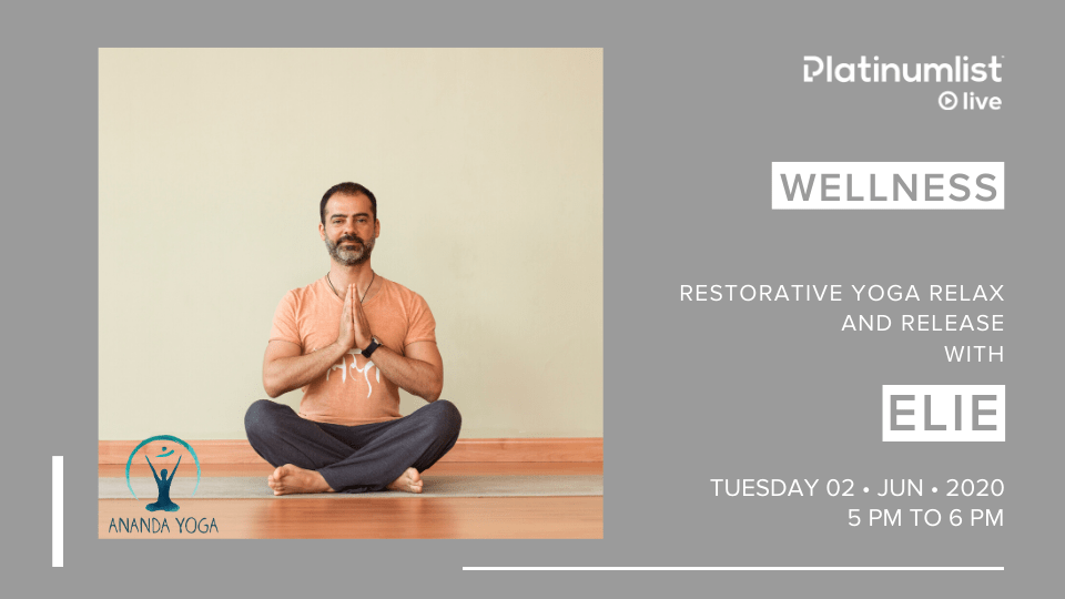 Restorative Yoga with Elie Dubai 2020