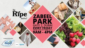 Ripe Market Events in Zabeel Park Dubai 2018