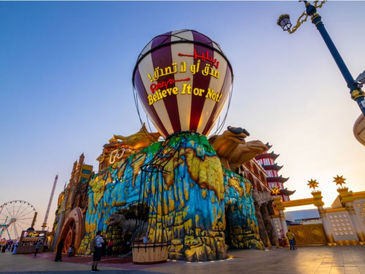 Ripley's Believe It or Not in Dubai Global Village