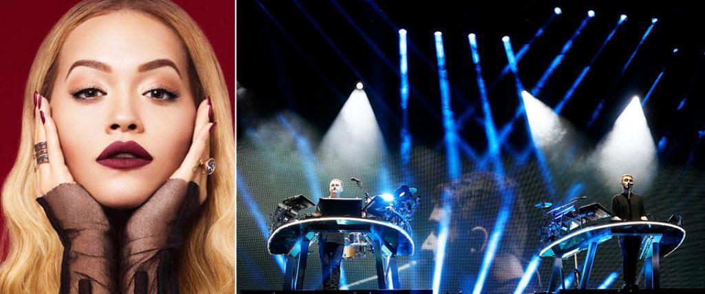 Rita Ora and Disclosure Live Dubai 2019