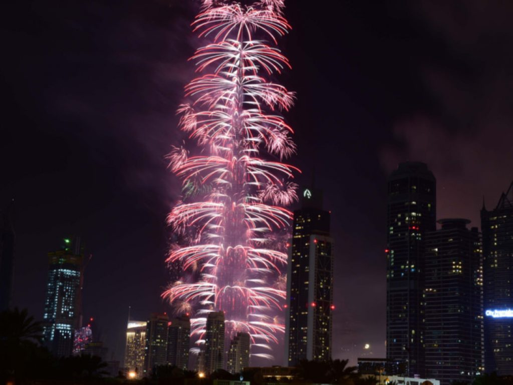 New Year's Eve at Burj Khalifa