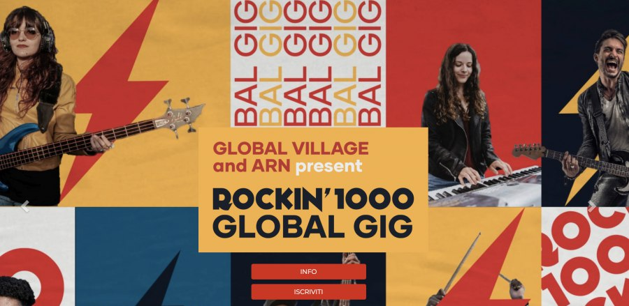 Rockin' 1000 Global Gig Dubai 2020