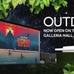 RoofTop cinema at Galleria Mall Dubai