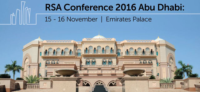 RSA Conference 2016 Abu Dhabi – Events in Abu Dhabi, UAE.