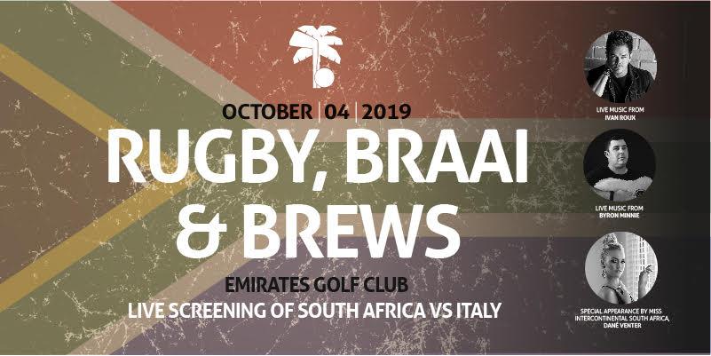 Rugby, Braai & Brews Dubai 2019