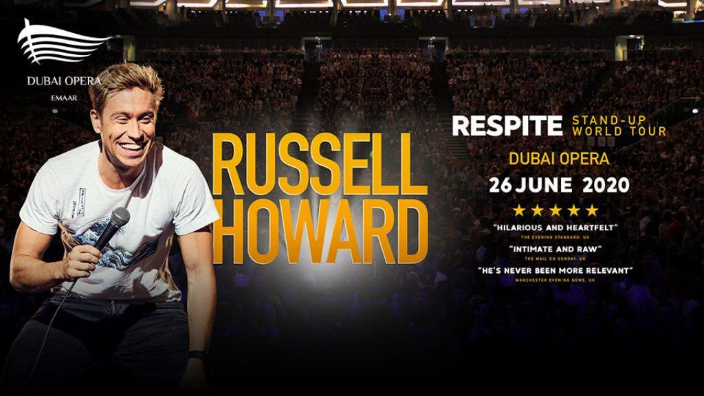 Russell Howard at Dubai Opera