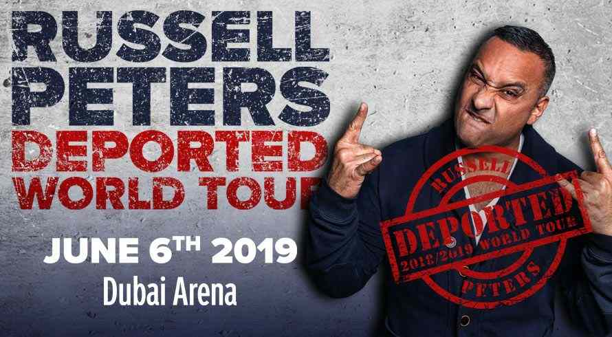 Russell Peters Live in Dubai