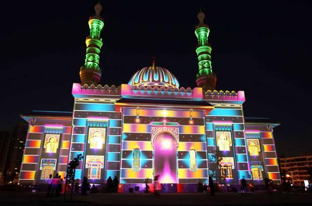 Sharjah Light Festival 2018 - Cultural Events in Sharjah, United Arab Emirates